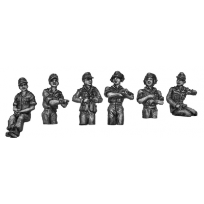 Afrika Korps crew set, hatch variants (20mm)