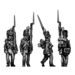 Centre Company, marching, shoulder arms (18mm)