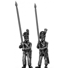 Ensign standing, bare pole (18mm)
