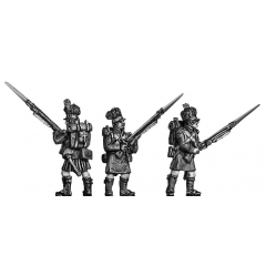 Centre Company, port arms (18mm)