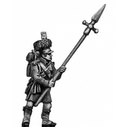 Highland sergeant, pike (18mm)