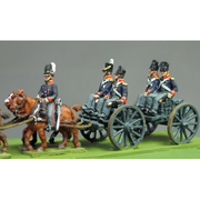 NEW - Royal artillery limber riders (18mm)