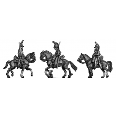 Heavy Dragoons at rest (18mm)