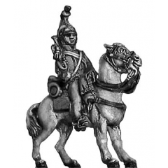Heavy Dragoons trumpeter (18mm)