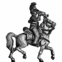British Household Cavalry trumpeter (18mm)