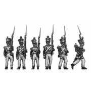 Grenadiers, march attack (18mm)