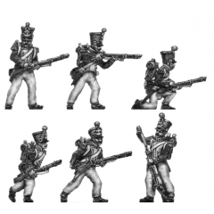 Voltigeurs, skirmishing (18mm)