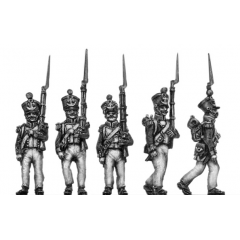 Voltigeurs, marching (18mm)