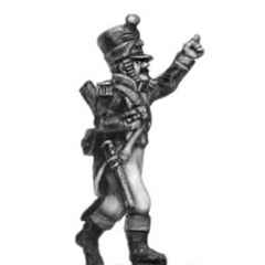 Voltigeur, officer w carbine (18mm)