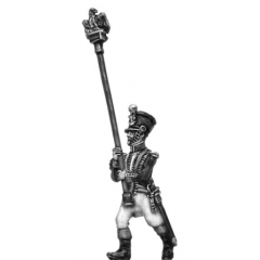 Eagle bearer in shako (18mm)