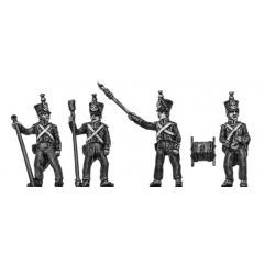 Foot Artillery crew, firing (18mm)