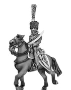 Elite hussar officer (18mm)