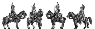 Cuirassier with carbine (18mm)