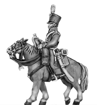 Portuguese Cavalry Trumpeter (18mm)