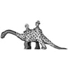 Shaftesbury and O'Toole in Rubber Dinosaur Suit (28mm)