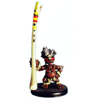 Pygmy standard bearer (28mm)