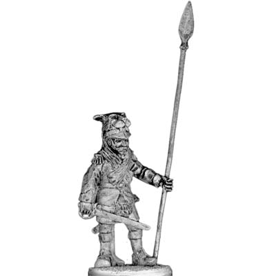 British Highland Regiment standard bearer (28mm)