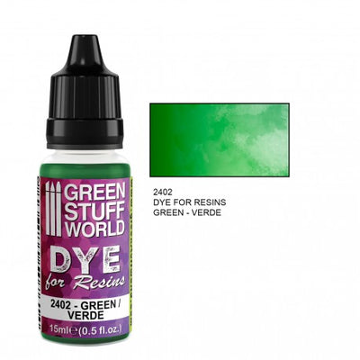 Dye for Resins GREEN