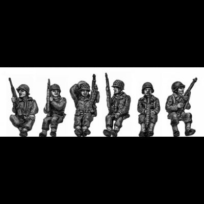 Armoured infantry seated set 1 (20mm)