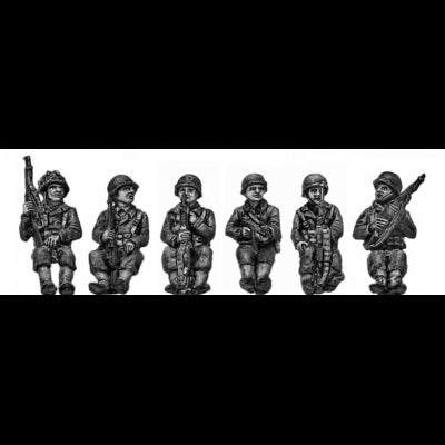 Armoured infantry seated set 2 (20mm)