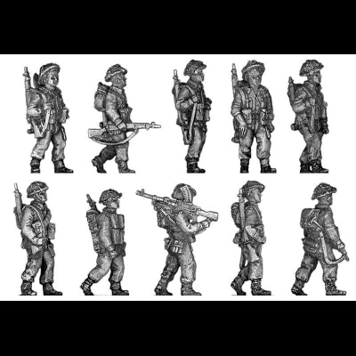 Infantry squad, walking (20mm)