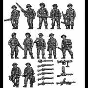 Infantry section walking (20mm)