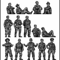 MP and guard, with prisoners (20mm)
