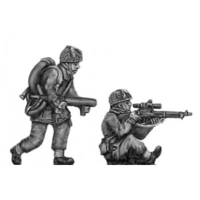 Airborne sniper and flamethrower (20mm)