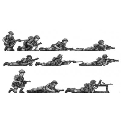 Western Desert Force Infantry, prone (20mm)