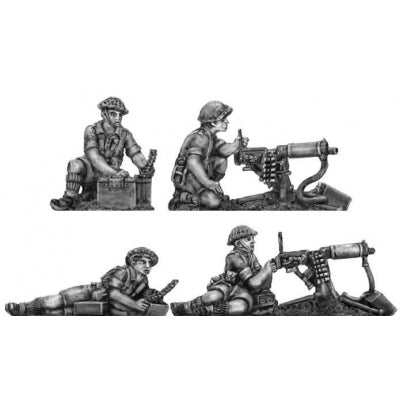 Western Desert Force Vickers HMG teams (20mm)