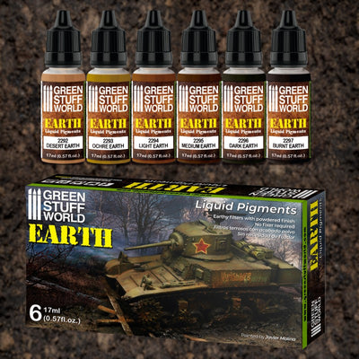 Liquid Pigments Set - Earth