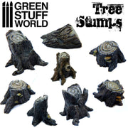 Trees Stumps