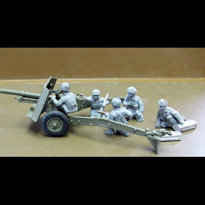 British Airborne 17pdr crew (20mm)