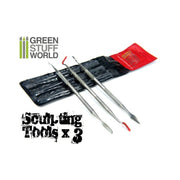 3x Sculpting Tools