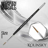 SILVER SERIES Kolinsky Brush - Size 1