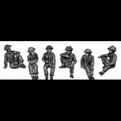 Six useful Tommies in tin hats (20mm)