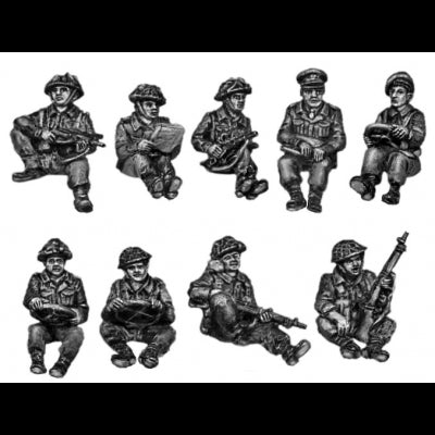 British infantry for jeeps (20mm)