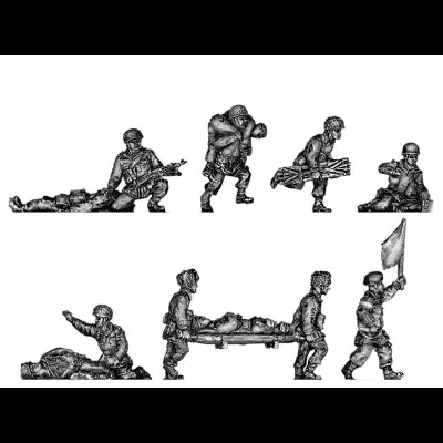 Airborne medics and wounded (20mm)