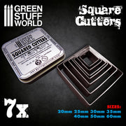 Square Cutters for Bases