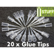 20x Precision tips for Super Glue Bottles