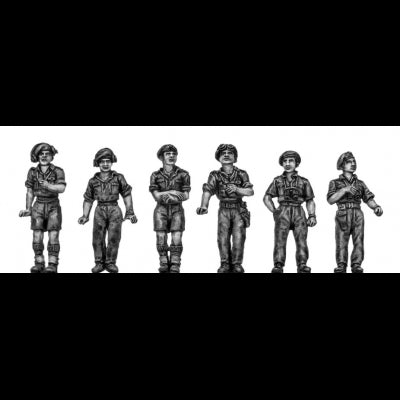 British RTR Full figure crew (20mm)