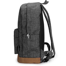 Load image into Gallery viewer, Men's Canvas Backpack - Gray - Casual