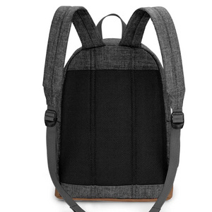 Men's Canvas Backpack - Gray - Casual