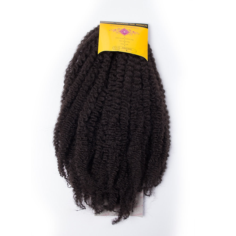 AFRO tresses twist Marley