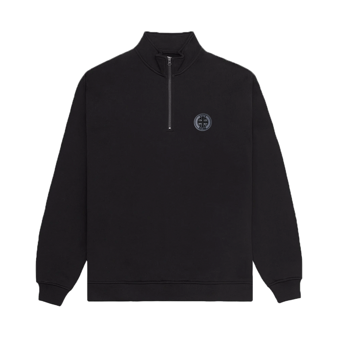 Albion Quarter Zip - Black