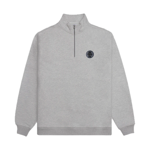 Albion Quarter Zip - Grey