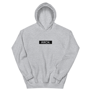 Blackout Hoodie - Grey-Arch Clothing UK
