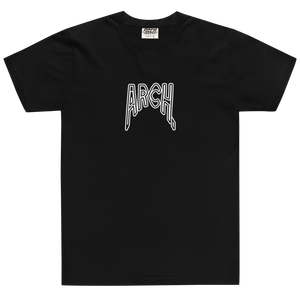 Arch Clothing - Distorted Tshirt Black