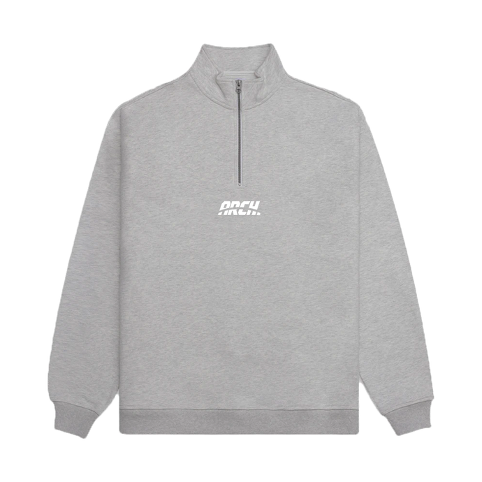 Original Quarter Zip - Grey