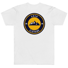 Load image into Gallery viewer, Peaks Tshirt - White-Arch Clothing UK